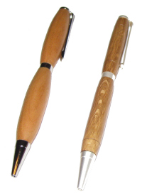 Slimline Twist Pen, pen case and shipping - Product Image